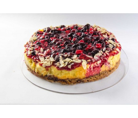 Kuchen de Cheesecake Frutos Rojos